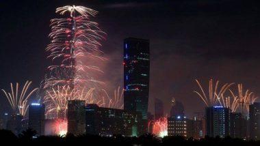 Burj Khalifa New Year Eve 2019 Fireworks Live Stream: नए साल के स्वागत में जगमगाया बुर्ज खलीफा, यहां देखें लाइव आतिशबाजी