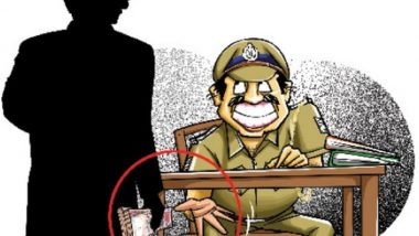 Rajasthan: Police outpost in-charge in Dholpur arrested taking bribe of 20 thousand, head constable absconding