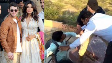 प्रियंका-निक की शादी कवर करने गई मीडिया का सुरक्षाकर्मियों से झगड़ा, बुलानी पड़ी पुलिस, देखें वीडियो
