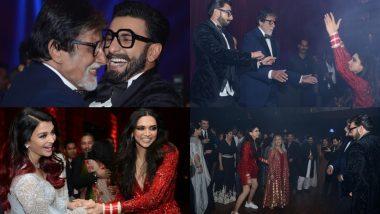 ऐश्वर्या राय और अमिताभ बच्चन ने दीपवीर को सिखाया पार्टी करने का सलीका, वायरल हुईं फोटोज