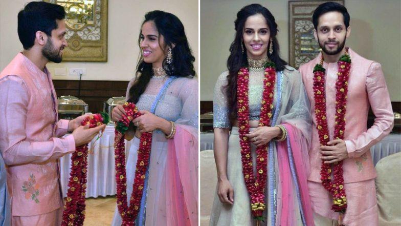 साइना नेहवाल ने पारूपल्ली कश्यप से की शादी, कहा- ये मेरी जिंदगी का सबसे बेस्ट मैच है