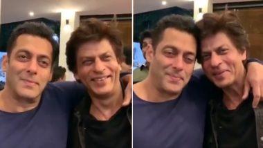 बिग बॉस ग्रैंड फिनाले से पहले सलमान खान दोस्त शाहरुख खान के साथ देख रहे हैं 'करण अर्जुन', देखें Video