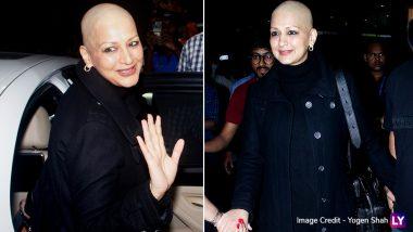 कैंसर ट्रीटमेंट के बाद मुंबई लौटीं सोनाली बेंद्रे, अब दिखने लगी हैं ऐसी, देखें लेटेस्ट PHOTOS