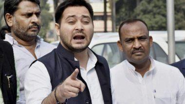 बिहार: तेजस्वी यादव का बड़ा बयान, कहा- मेरे अंदर लालू का खून, पप्पू-कन्हैया मंजूर हैं लेकिन नीतीश-बीजेपी कभी नहीं