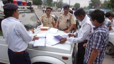 दिल्ली में टूटे सारे रिकॉर्ड, ट्रैफिक नियम तोड़ने पर ट्रक ड्राइवर का कटा 2 लाख 500 रुपये का चालान