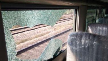फाइनल ट्रायल के दौरान हाई स्पीड ट्रेन-18 पर कुछ लोगों ने किया पथराव, डैमेज हुए खिड़कियों के शीशे