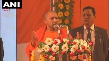 """सीएम योगी आदित्यनाथ का बड़ा बयान, कहा- """"राम मंदिर जब भी बनेगा, हम ही बनवाएंगे"""""""