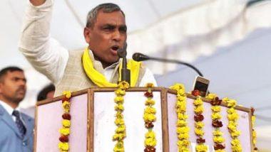 एसबीएसपी के अध्यक्ष ओम प्रकाश राजभर ने योगी सरकार पर साधा निशाना, कहा- पाप धोने के लिए कुंभ में गंगा स्नान कर रही हैं