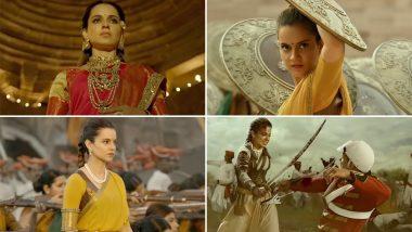 फिल्म 'मणिकर्णिका' का गाना 'विजयी भवः' हुआ रिलीज, जीत की हुंकार भर रही हैं कंगना रनौत