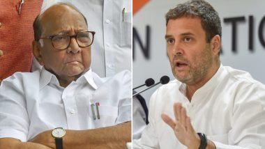 लोकसभा चुनाव 2019: राहुल गांधी ने शरद पवार से की मुलाकात, महाराष्ट्र के सीट बंटवारे पर हुई चर्चा