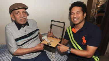 सचिन तेंदुलकर और विनोद कांबली के कोच रमाकांत अचरेकर का निधन, 87 की उम्र में ली अंतिम सांस