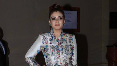 कादर खान के निधन पर रवीना टंडन ने जताया शोक, कहा-कॉमिक टाइमिंग देख हैरान रह जाती थी