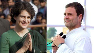 प्रियंका गांधी को लेकर राहुल का एक और ऐलान, कहा- यूपी ही नहीं राष्ट्रीय स्तर की भी दी जाएगी जिम्मेदारी