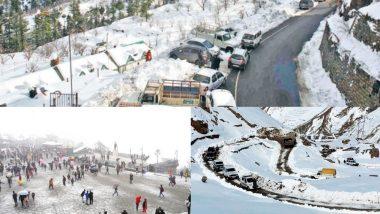 उत्तर भारत में जारी है सर्दी का सितम, शीतलहर और बर्फबारी के चलते जनजीवन हुआ अस्त-व्यस्त