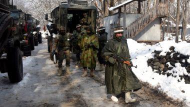 जम्मू-कश्मीर: पुलवामा में सुरक्षाबलों और आतंकियों के बीच मुठभेड़, 1 आतंकी ढेर, सर्च ऑपरेशन जारी
