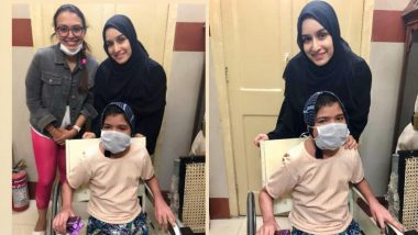 श्रद्धा कपूर ने अपनी एक बीमार प्रशंसक को दिया सरप्राइज, बुर्का पहनकर मिलने पहुंची अस्पताल