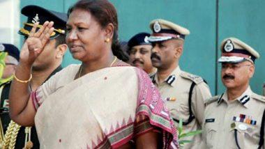झारखंड: राज्यपाल द्रौपदी मुर्मू कहा- नक्सली देश के विकास के लिए बड़ी चुनौतियों में से एक हैं