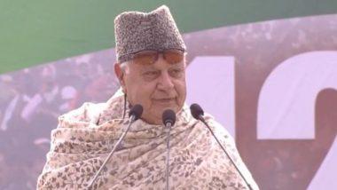 शीतकालीन सत्र कल से होगा शुरू, सर्वदलीय बैठक में विपक्ष ने जम्मू-कश्मीर के पूर्व सीएम फारूक अब्दुल्ला की हिरासत का मुद्दा उठाया
