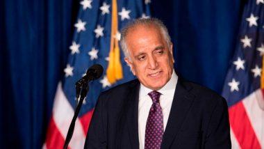 अमेरिका और तालिबान के रिश्ते पर बोले दूत जमय खलीलजाद, कहा- शांति ढांचे का मसौदा तैयार करने के लिए सहमत हैं