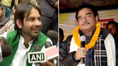 बिहार: तेज प्रताप यादव ने दिया शत्रुघ्न सिन्हा को आरजेडी में शामिल होने का न्योता, कही ये बड़ी बात