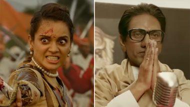 कंगना की 'मणिकर्णिका' और नवाज की 'ठाकरे' के बीच टक्कर, पहले दिन दोनों फिल्मों ने कमाए इतने करोड़