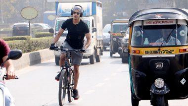 ईशान खट्टर हेडफोन लगाकर चला रहे थे साइकिल, गलती पकड़ी गई तो ट्रोलर्स से भी भिड़े