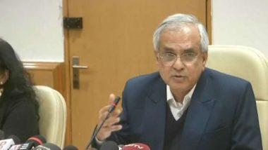 कांग्रेस की न्याय योजना पर नीति अयोग के VC राजीव कुमार का बयान आचार संहिता का उल्लंघन: चुनाव आयोग