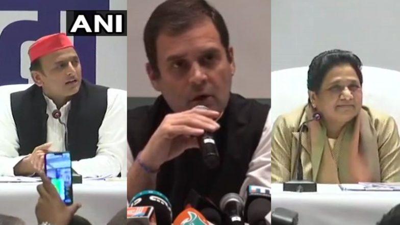 SP-BSP के गठबंधन पर अखिलेश-मायावती को राहुल गांधी का जबाव, बोले- कांग्रेस अपनी विचारधारा की लड़ाई लड़ेगी, हम लड़ेंगे और चौंकाएंगे