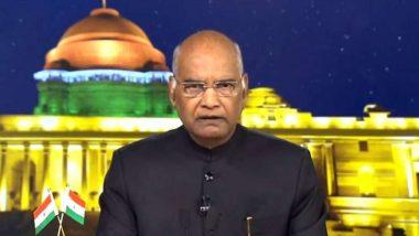 राष्ट्रपति रामनाथ कोविंद आज से 2 दिन के लिए उत्तर प्रदेश के दौरे पर, गृहमंत्री, राज्यपाल और मुख्यमंत्री करेंगे स्वागत