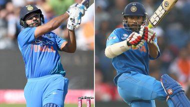 India vs New Zealand 2nd ODI 2019: रोहित शर्मा और शिखर धवन की जोड़ी ने सचिन तेंदुलकर और वीरेंद्र सहवाग के रिकॉर्ड को तोड़ते हुए किया कमाल