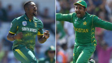 Pakistan vs South Africa: सरफराज अहमद ने फेहलुकवायो से मिलकर मांगी माफी, आदिले फेहलुकवायो ने किया माफ