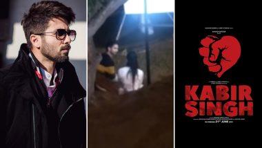 फिल्म 'कबीर सिंह' से शाहिद कपूर का रोमांटिक सीन हुआ लीक, देखें Video