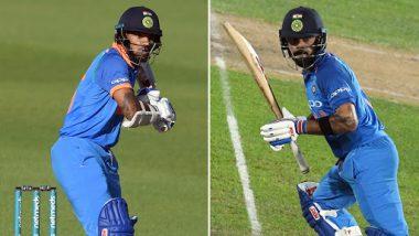 India vs New Zealand 1st ODI: मैच जीतने के बाद कप्तान कोहली ने शिखर धवन के बारे में कही ये बड़ी बात
