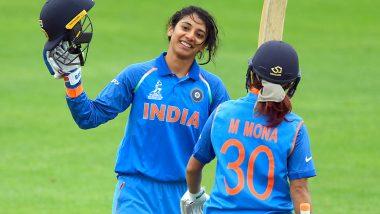 India vs England Women Cricket 3rd ODI 2019: स्मृति मंधाना और पूनम राउत की शानदार पारी की बदौलत भारतीय महिला टीम ने इंग्लैंड को दिया 206 रनों का लक्ष्य