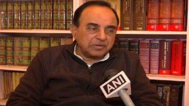 बीजेपी सांसद सुब्रह्मण्यम स्वामी का बयान, करतारपुर गलियारे का काम रोक देना चाहिए, कांग्रेस ने बोला हमला