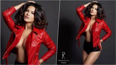 Dabboo Ratnani Calendar Photo: रेड जैकेट में बेहद हॉट लग रही हैं सनी लिओनी, सोशल मीडिया पर तस्वीर हो रही है वायरल
