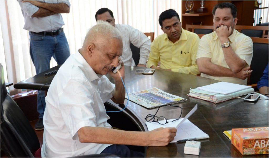 गोवा: बीजेपी के पूर्व विधायक बोले, सीएम मनोहर पर्रिकर की हालत स्थिर, चिंता करने की नहीं है जरूरत