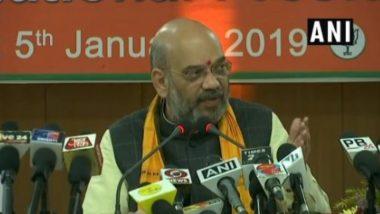 लोकसभा चुनाव को लेकर BJP अध्यक्ष अमित शाह का बयान, कहा- पूर्वोत्तर में बरकरार है मोदी लहर, 25 में से 21 सीटों पर दर्ज करेंगे जीत