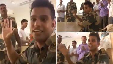 BSF जवान ने गाया ऐसा गाना, जिसे सुनकर छलक जाएंगे आपके आंखों से आंसू, देखें video