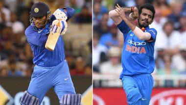 India vs Australia: महेंद्र सिंह धोनी बने 'मैन ऑफ द सीरीज' और युजवेंद्र चहल को मिला 'मैन ऑफ द मैच' का खिताब