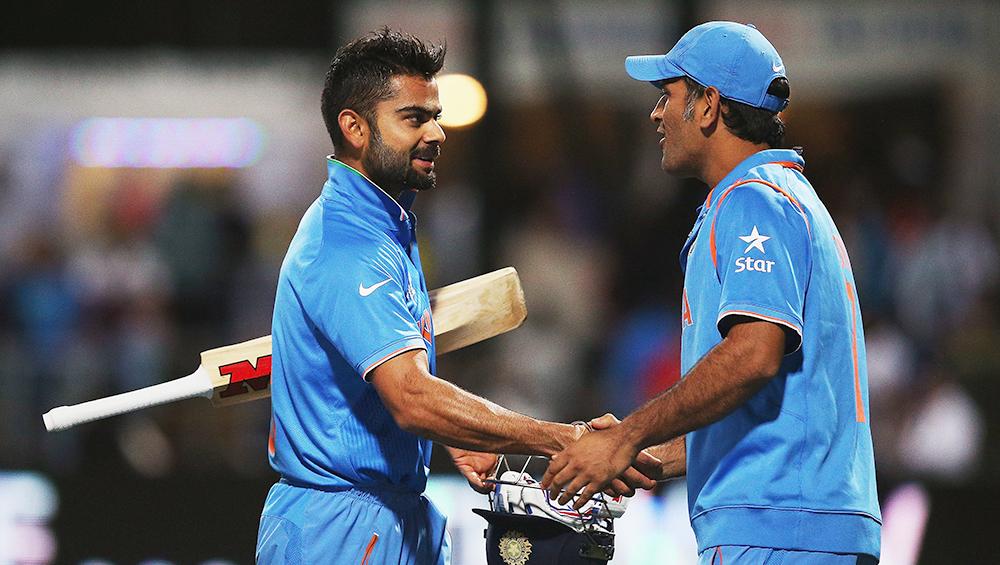 Team India ICC Cricket World Cup 2019: क्या विराट कोहली की जीत में रोड़ा साबित हो सकते हैं उनके मित्र धोनी और रवि शास्त्री? पढ़े ज्योतिषाचार्य पंडित लक्ष्मीनारायण की भविष्यवाणी
