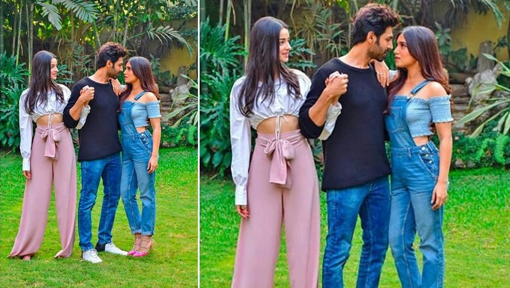 कार्तिक आर्यन, भूमि पेडनेकर और अनन्या पांडे फिल्म 'पति, पत्नी और वो' में साथ आएंगे नजर