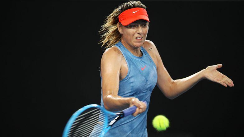 Australian Open 2019: रूसी टेनिस स्टार मारिया शारापोवा ने स्वीडन की रेबेका पीटरसन को दी मात