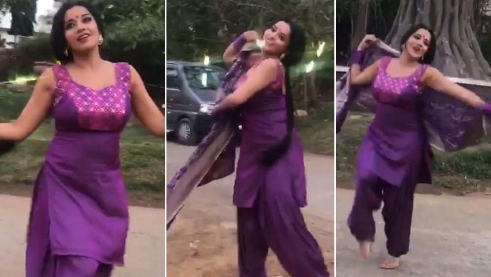 भोजपुरी स्टार मोनालिसा ने शाहरुख खान के सॉन्ग 'मेरे नाम तू' पर किया डांस, इंटरनेट पर Viral हुआ Video