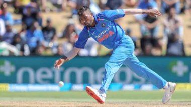हार्दिक पंड्या ने टीम इंडिया के साथ की प्रैक्टिस, चोट की वजह से टीम से हैं बाहर