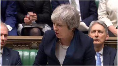 यूरोपीय संघ से ब्रेक्जिट डेडलाइन में विस्तार का आग्रह करेंगी प्रधानमंत्री थेरेसा मे