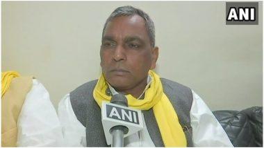 यूपी: प्रकाश राजभर ने BJP पर साधा निशाना, कहा-  सीएम योगी ने 17 पिछड़ी जातियों के साथ किया छल