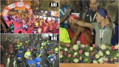 Tata Mumbai Marathon 2019: मैरी कॉम ने दिखाई मैराथन को हरी झंडी, सड़कों पर दौड़े 46,000 से ज्यादा धावक