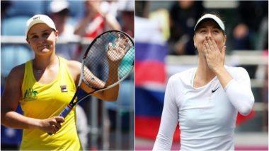 Australian Open 2019: ऑस्ट्रेलिया की एश्ले बार्टी ने रूसी टेनिस स्टार मारिया शारापोवा को हराया