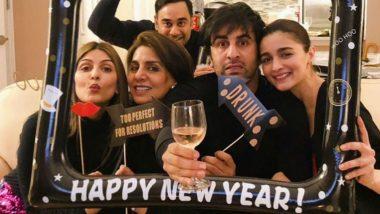 आलिया भट्ट ने रणबीर कपूर के साथ मनाया नए साल का जश्न, see pics
